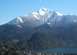 Auf dem Schafberg liegt noch Schnee