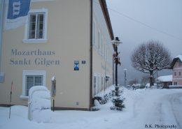 Das Geburtshaus von Mozarts Schwester
