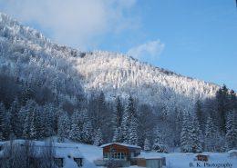 Schnee und Sonne, ein Wintertraum