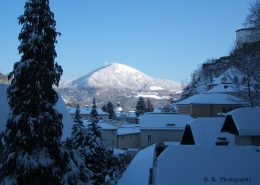 Salzburg im Schnee ist wunderschön