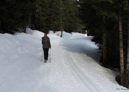 Winterwandern auf der Postalm ist sehr erholsam