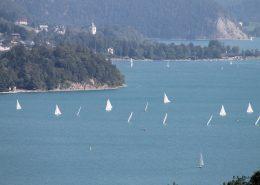 Der Wolfgangsee ist auch ein Paradies für Wassersportler