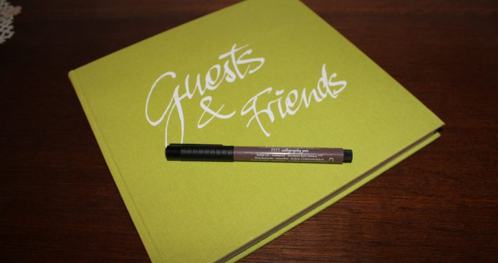 Wir freuen uns über einen Eintrag im Gästebuch